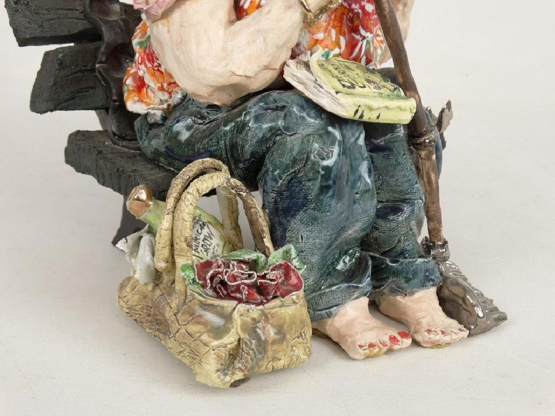 D. M. Z. Pottery Sculpture - 4