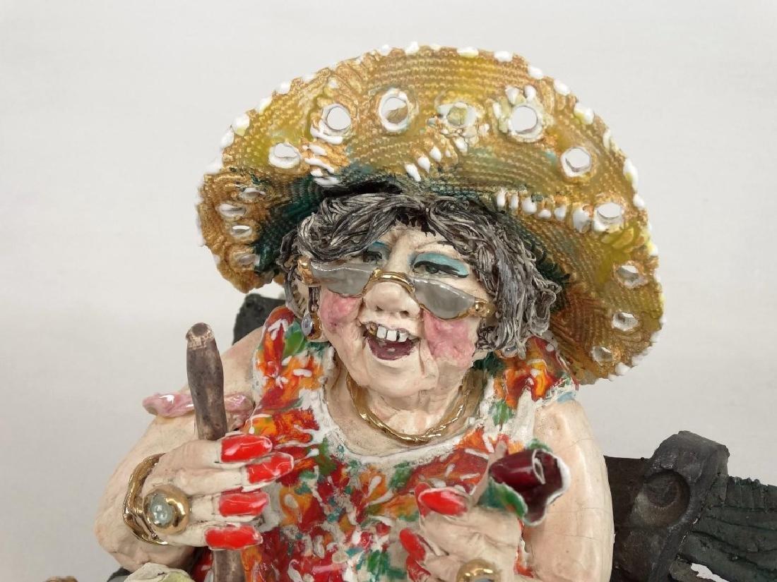 D. M. Z. Pottery Sculpture - 5
