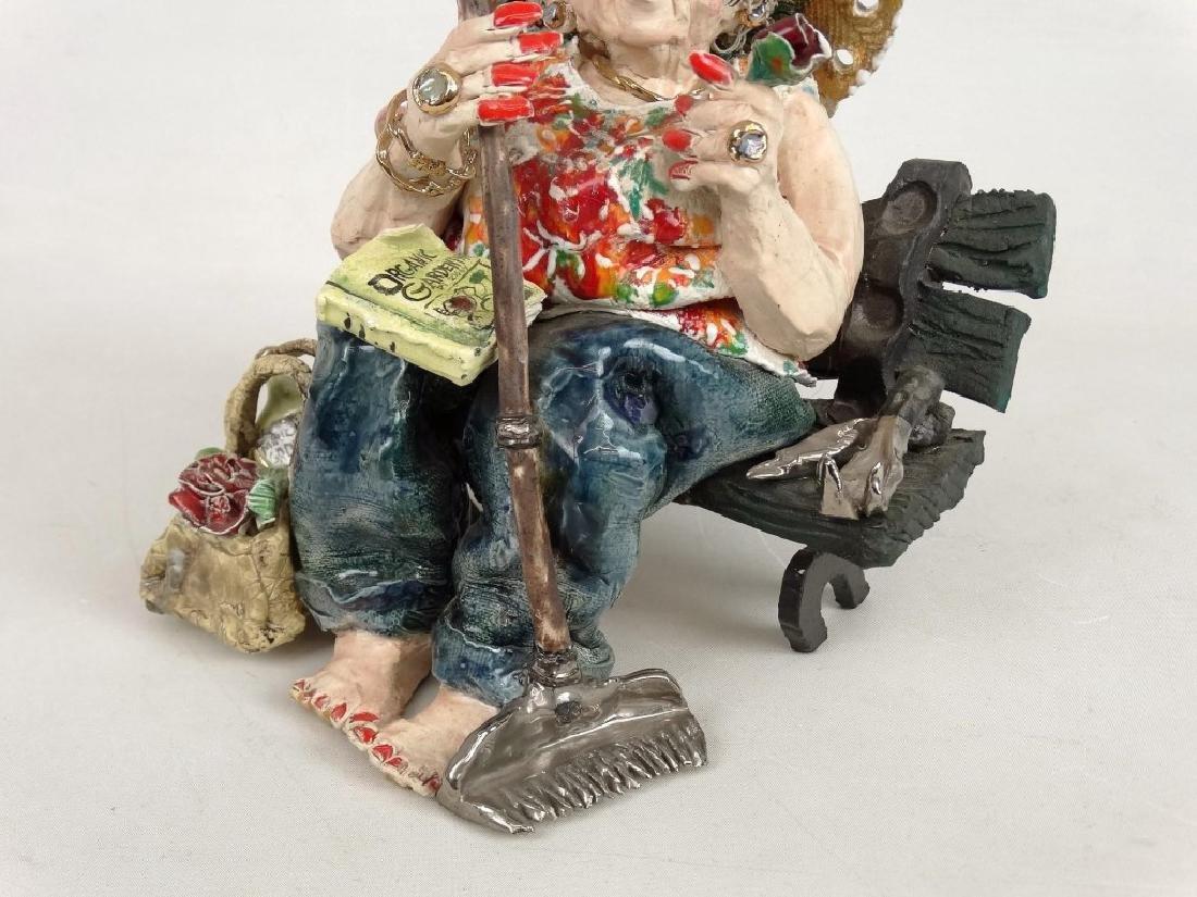 D. M. Z. Pottery Sculpture - 7