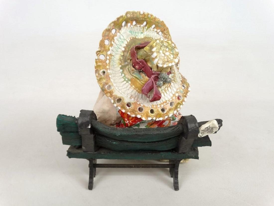 D. M. Z. Pottery Sculpture - 9