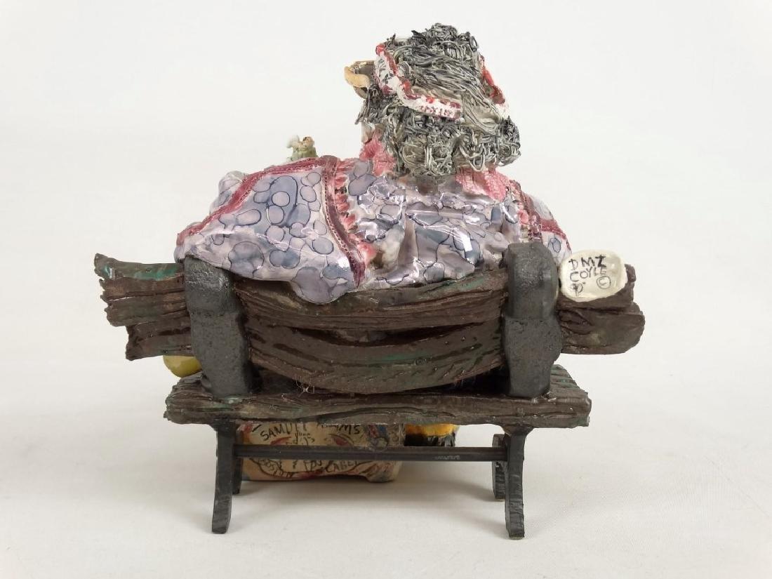 D. M. Z. Pottery Sculpture - 11