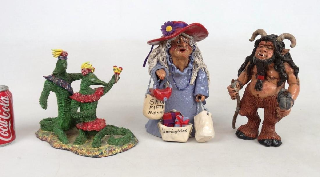 Pottery Sculptures