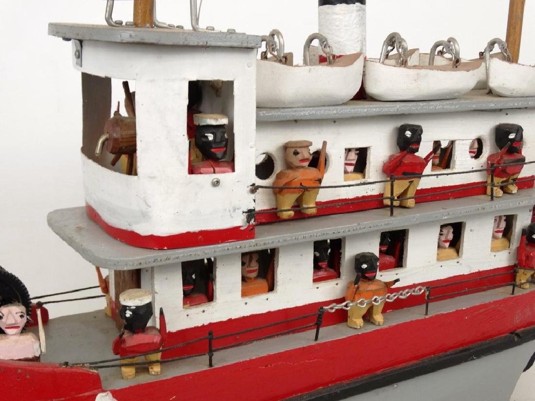 Folk Art Boat - 4