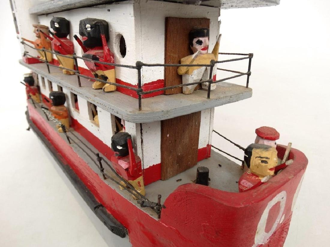 Folk Art Boat - 7