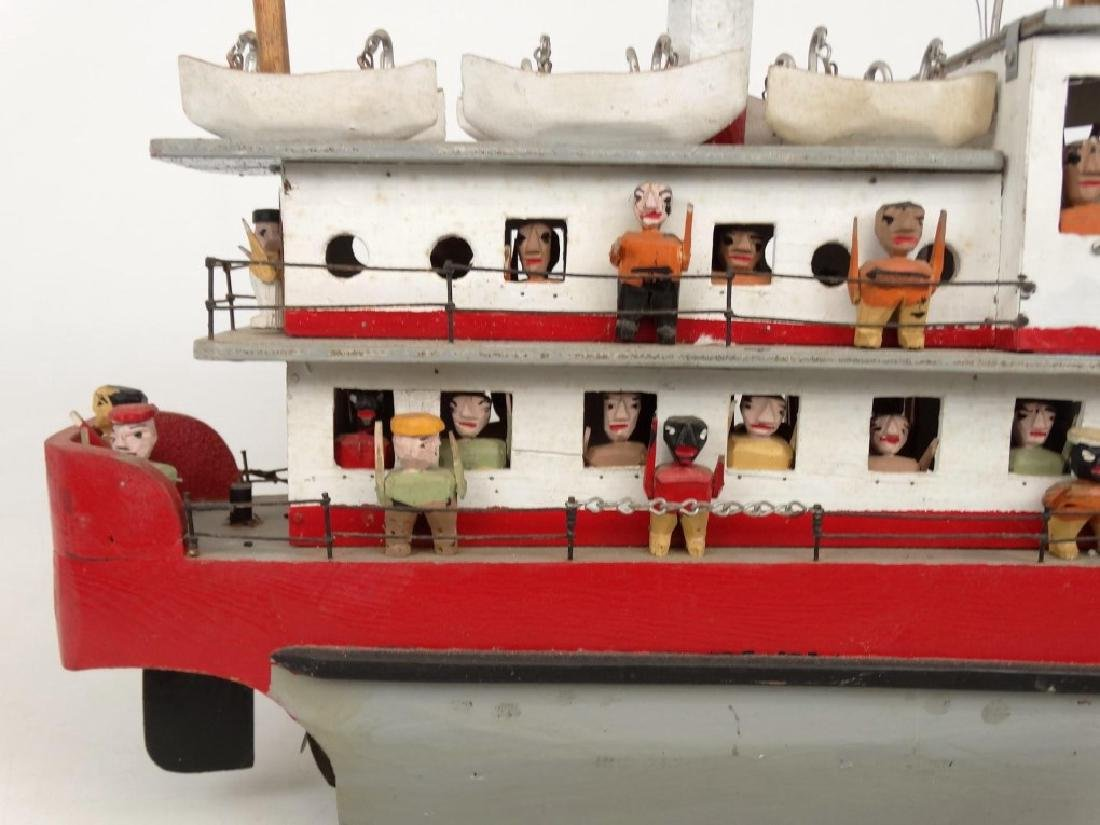Folk Art Boat - 9