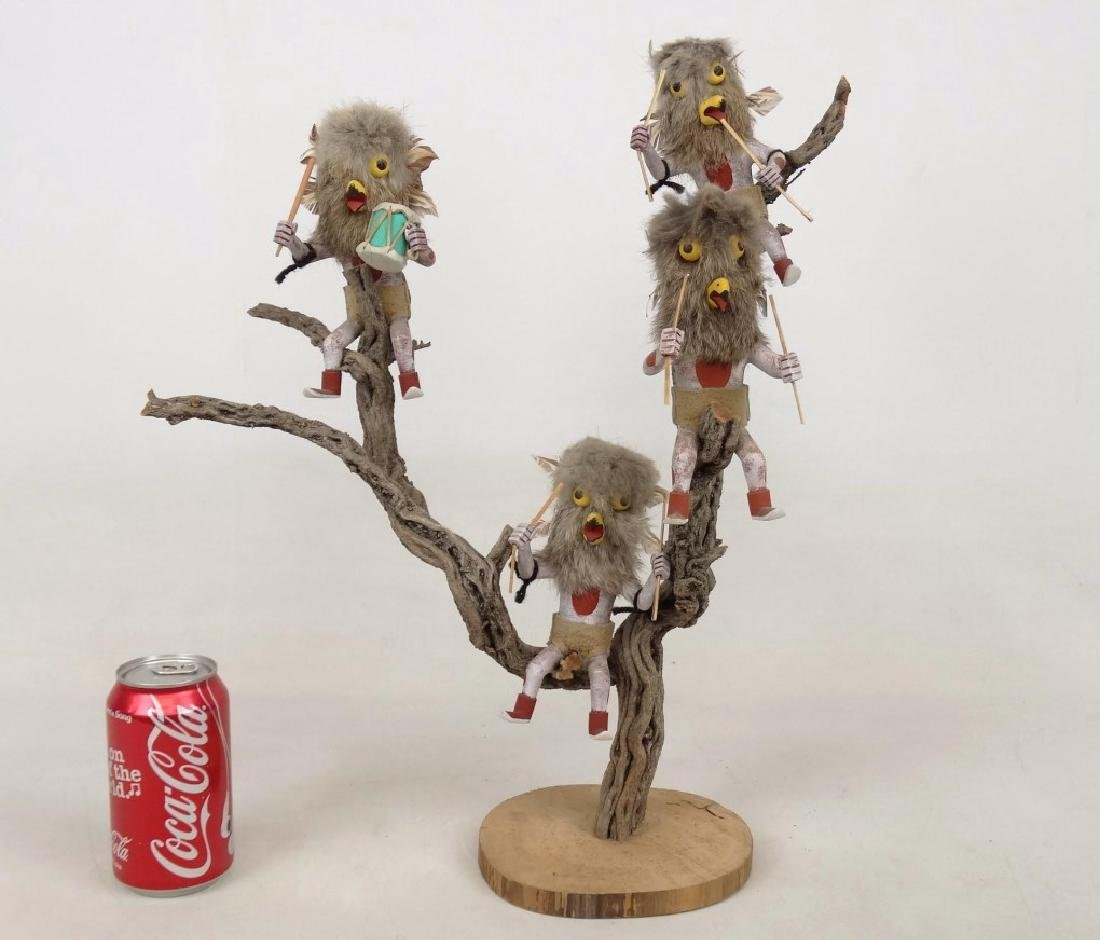 Native American Owl Tree