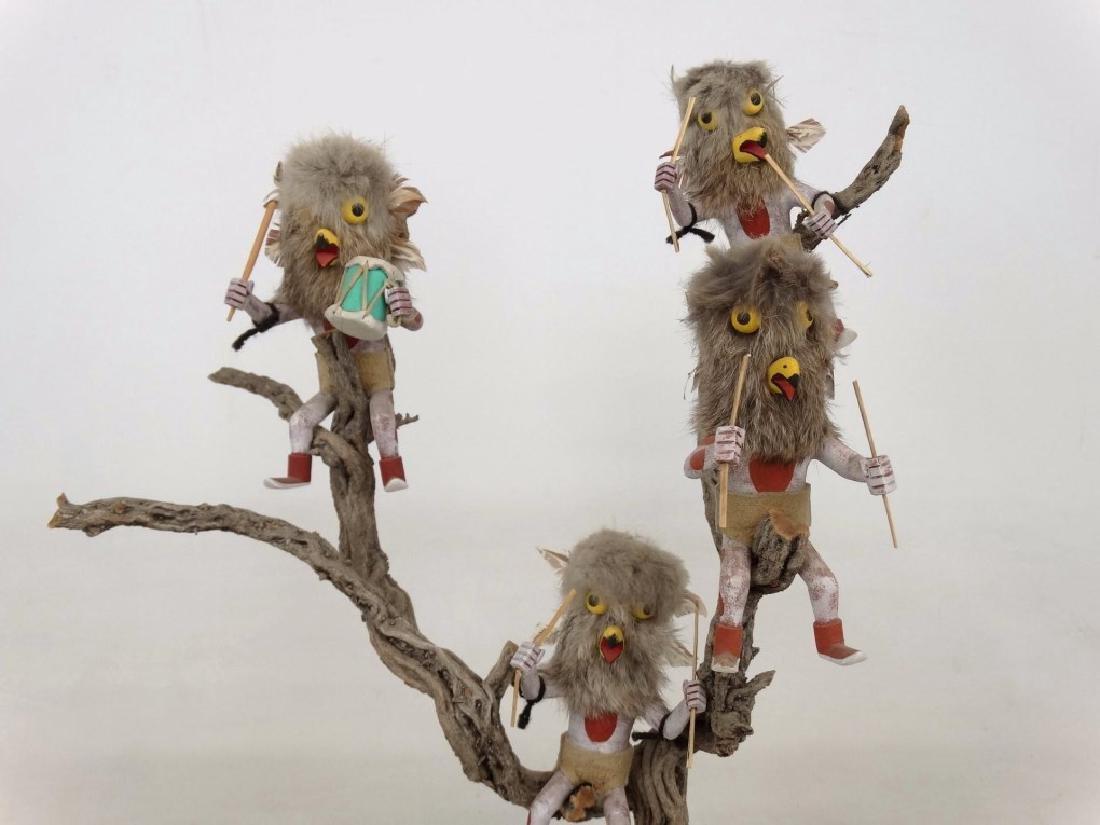 Native American Owl Tree - 2