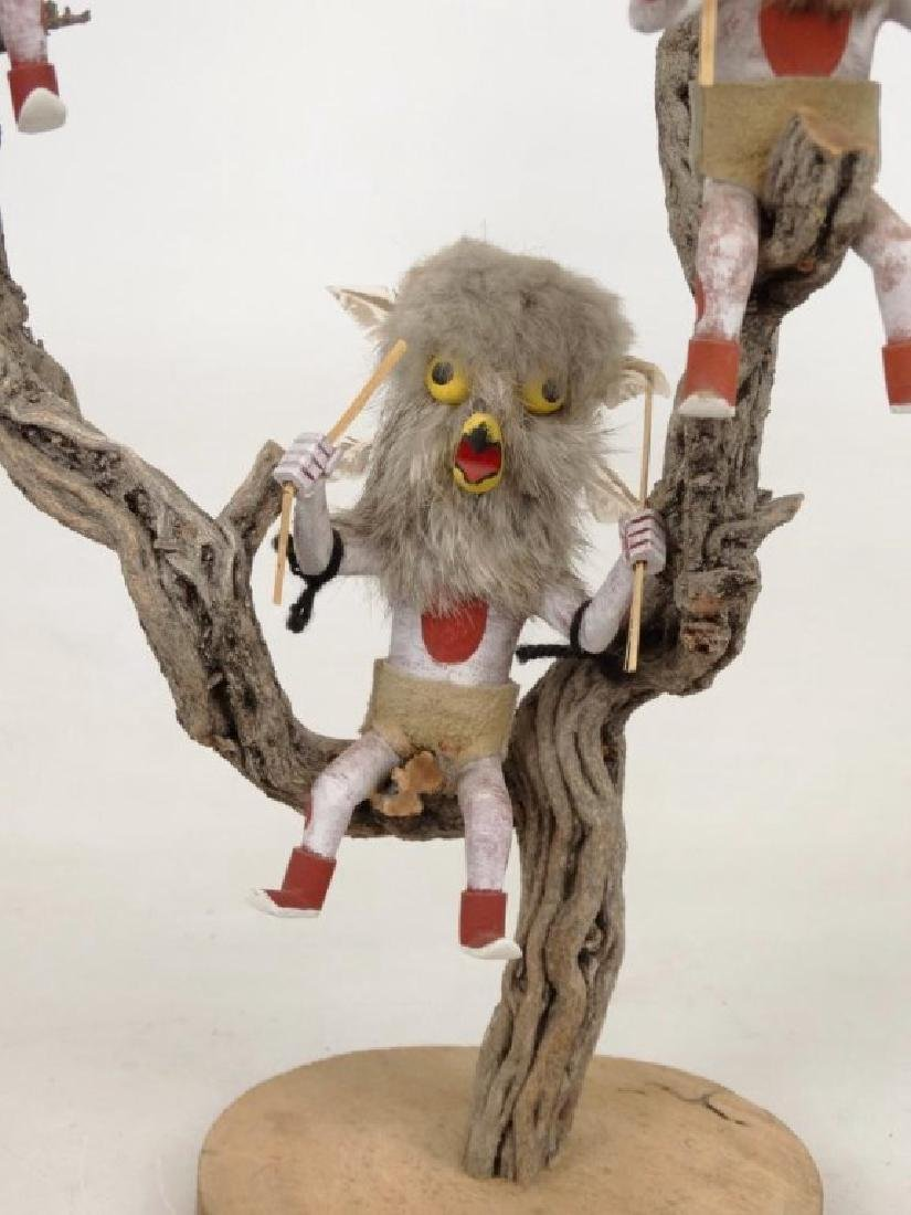 Native American Owl Tree - 3