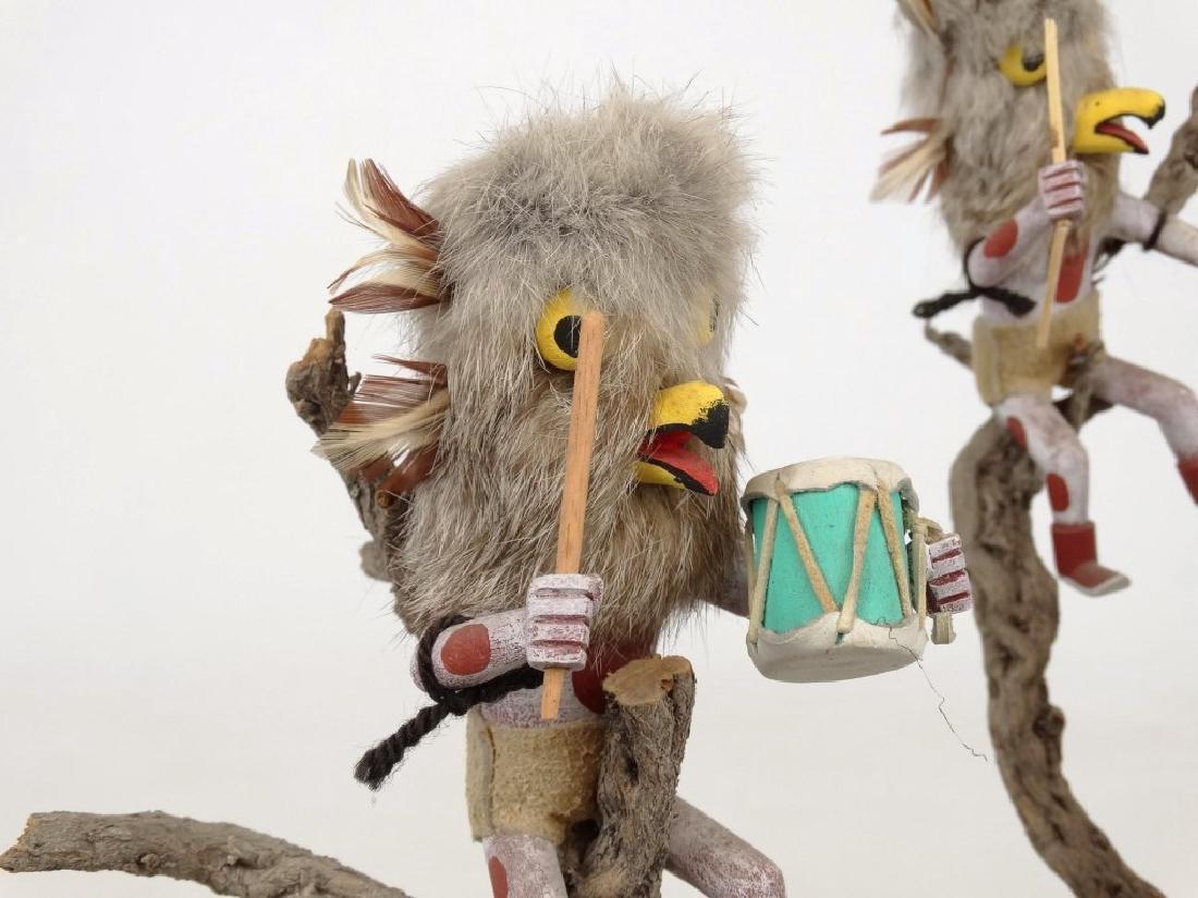 Native American Owl Tree - 5