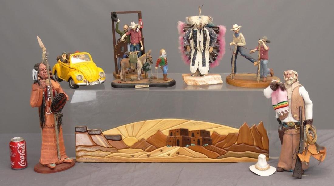 Native American & Cowboy Lot