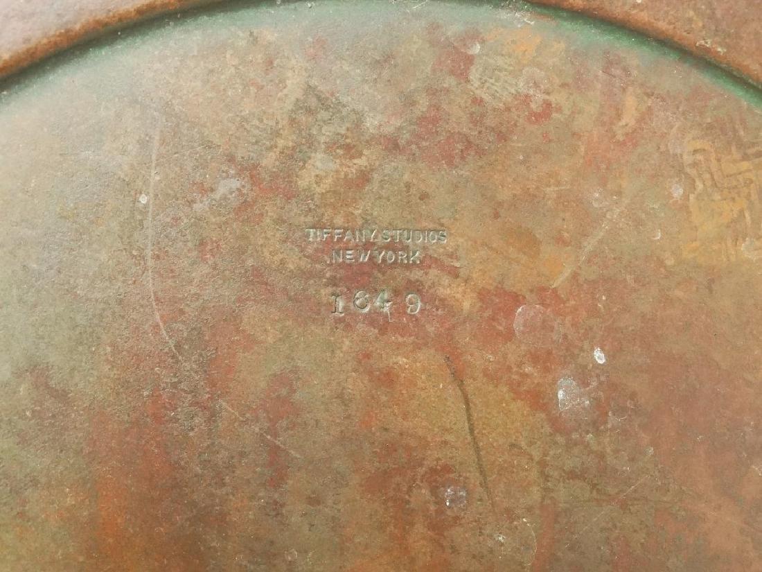 Tiffany Bronze Art Nouveau Ashtray - 5