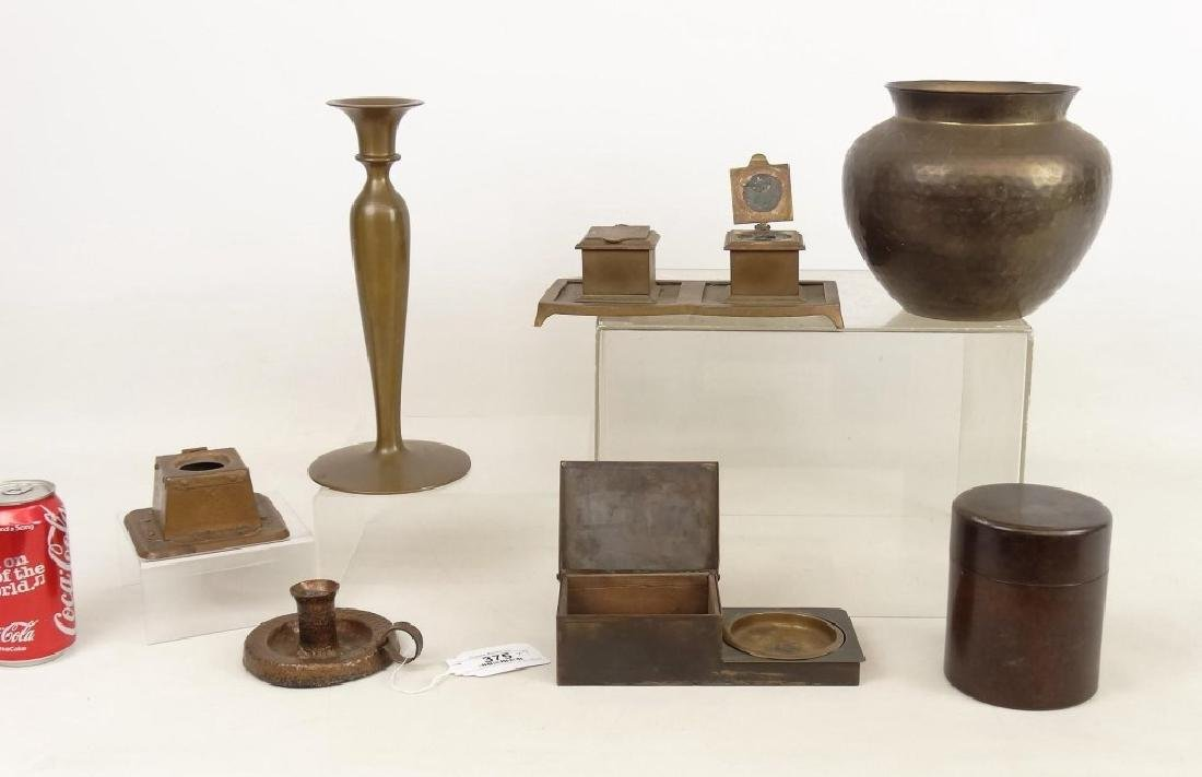 Arts & Crafts Metalware Lot