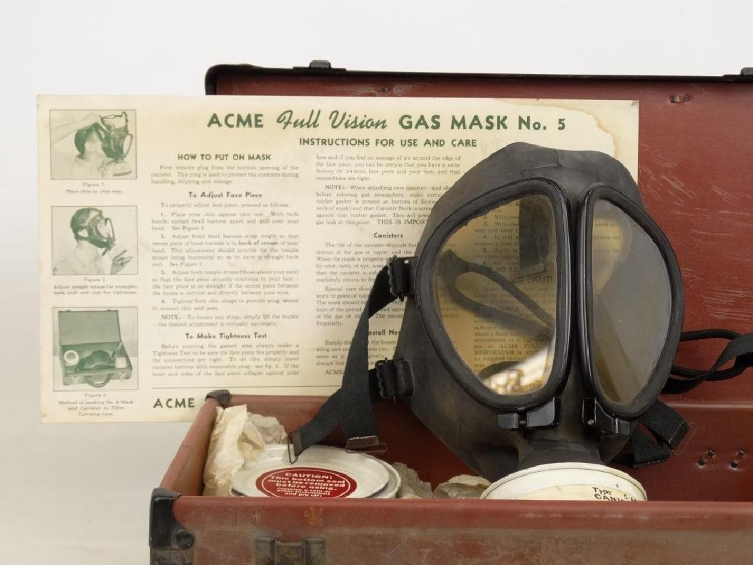 Acme Full Vision Gas Mask - 2