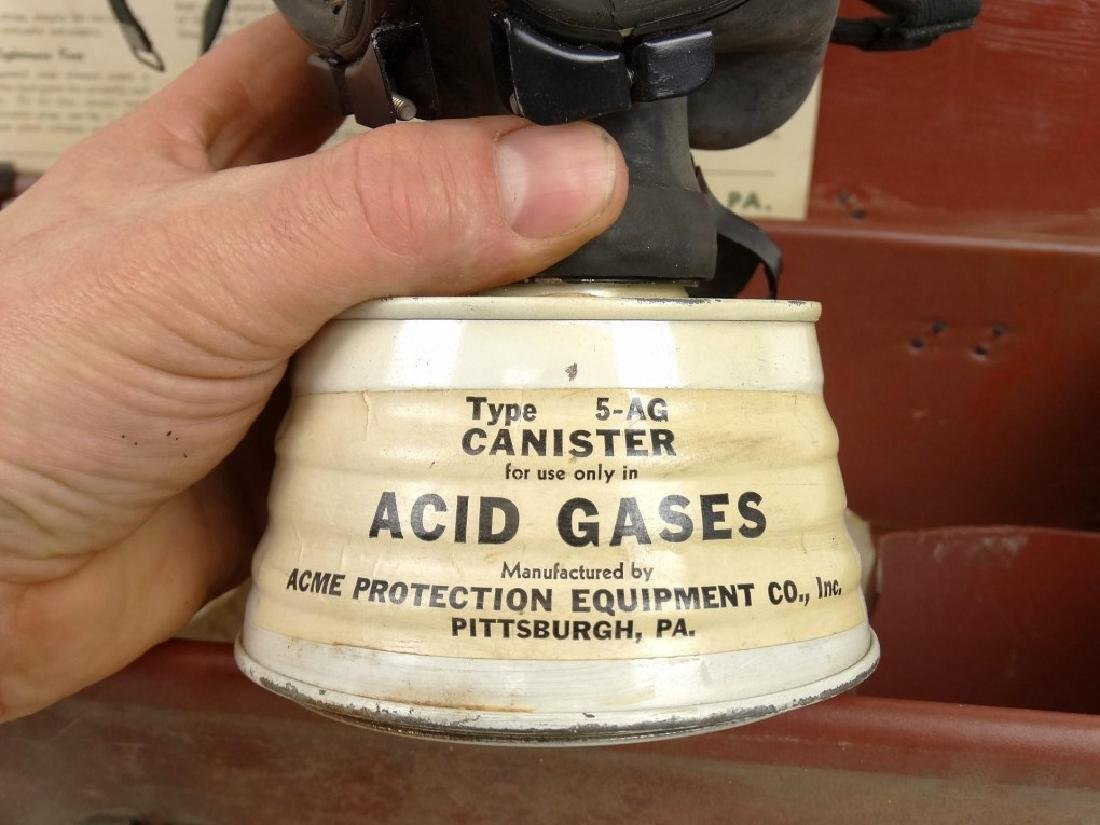 Acme Full Vision Gas Mask - 3