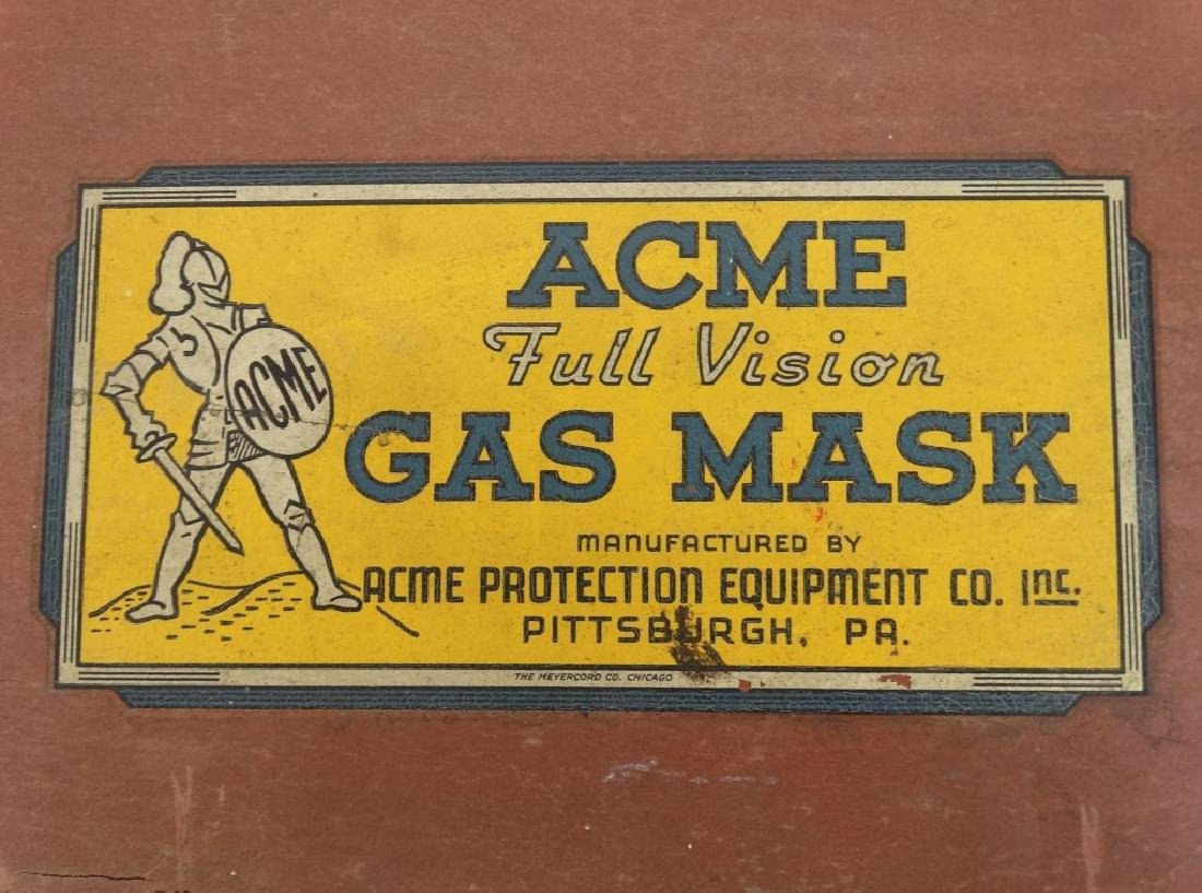 Acme Full Vision Gas Mask - 5