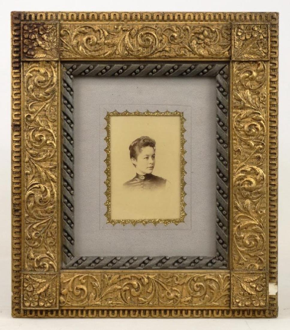 Victorian Frame With Photograph