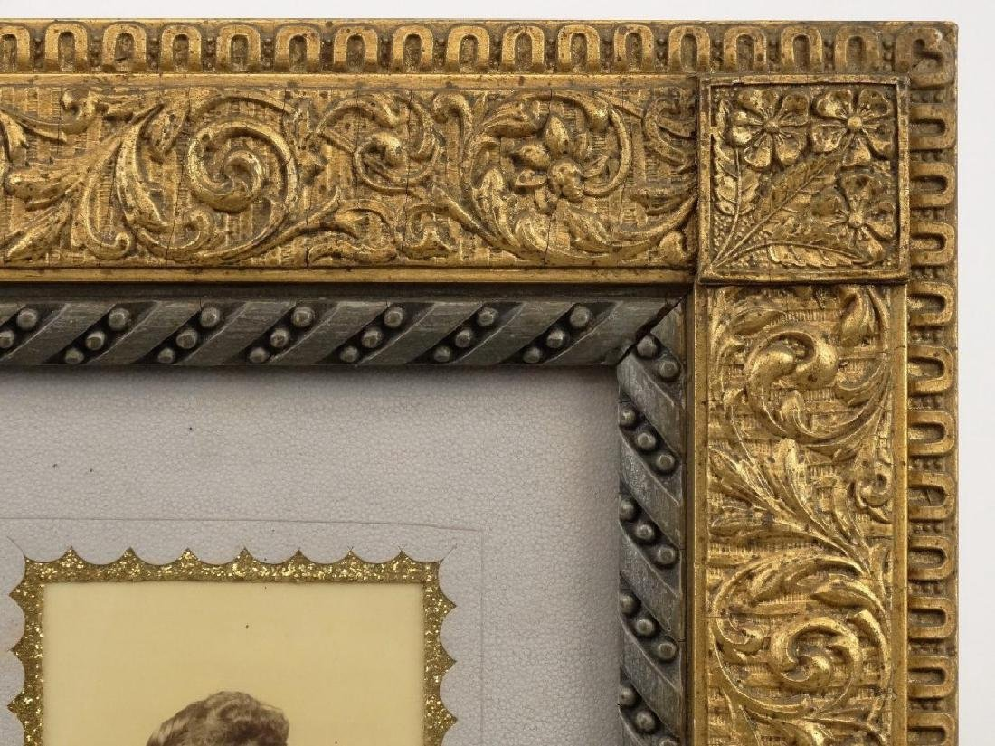 Victorian Frame With Photograph - 3