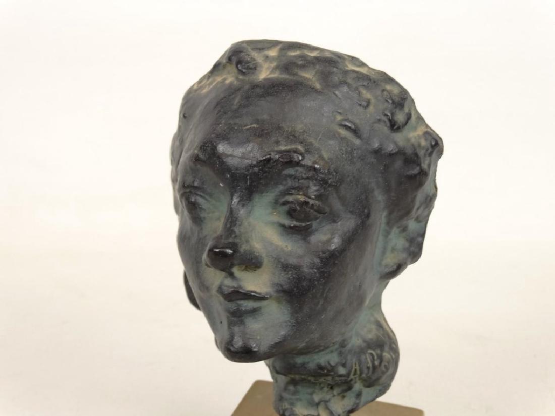 Bust, After Rodin - 3