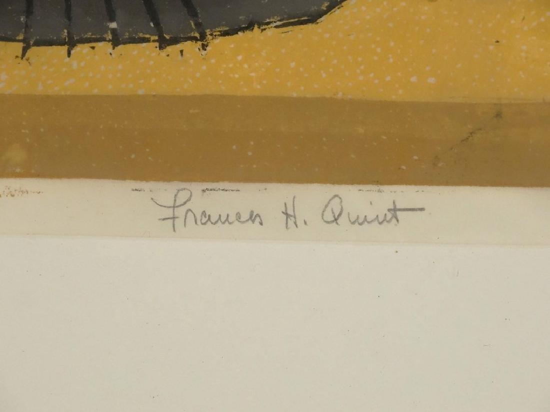 Francis Quint, Lithograph - 4
