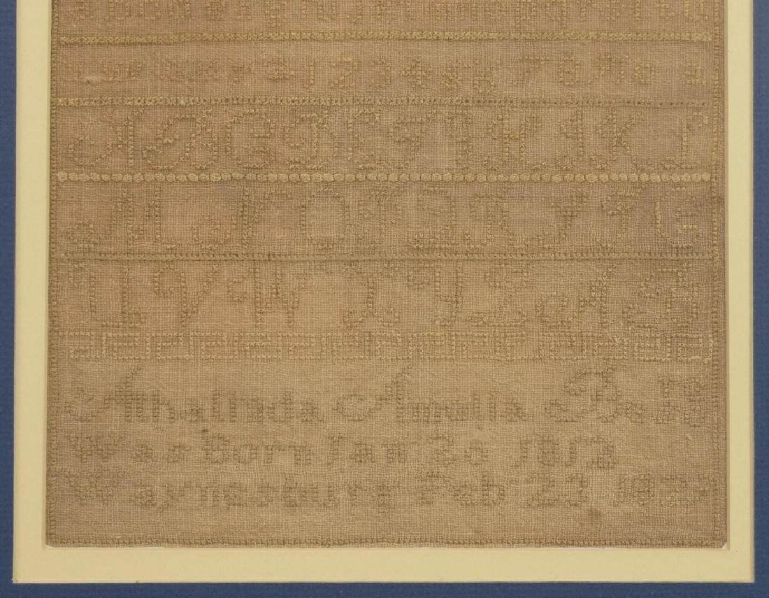 19th c. Samplers - 3