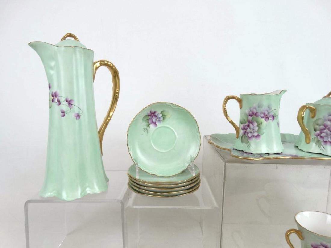 Porcelain Coffee Set - 2