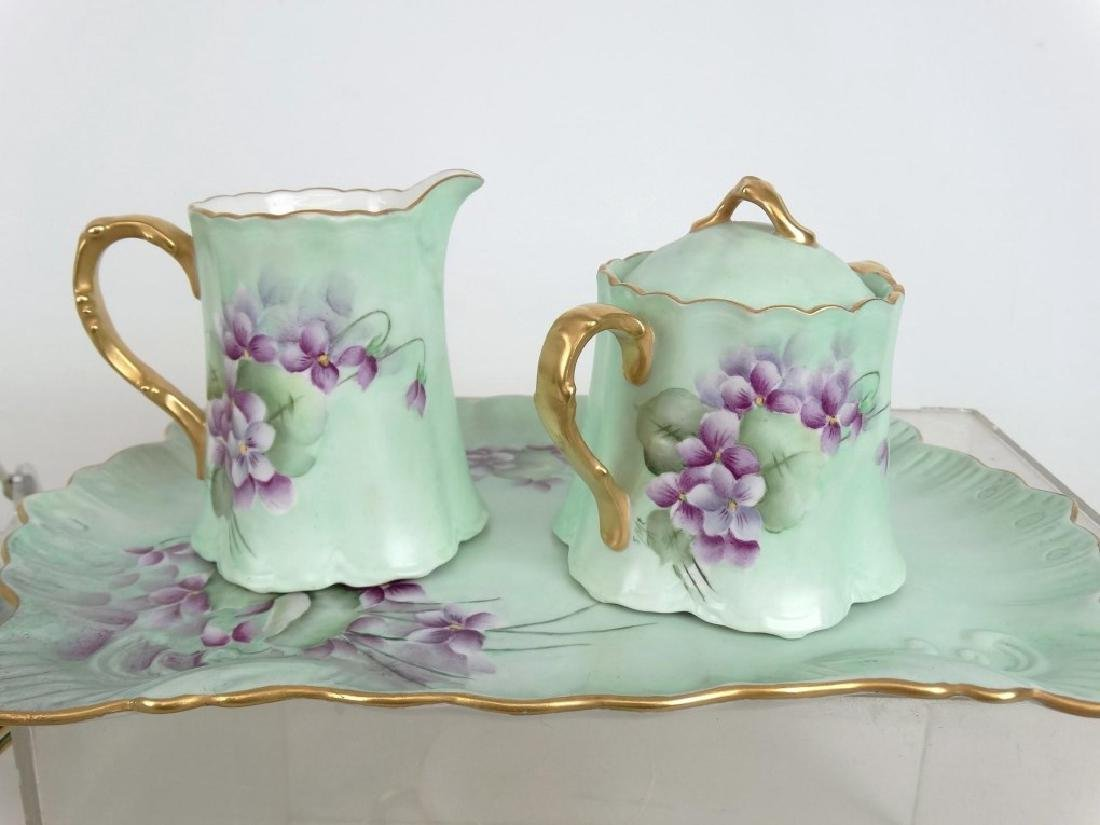 Porcelain Coffee Set - 4