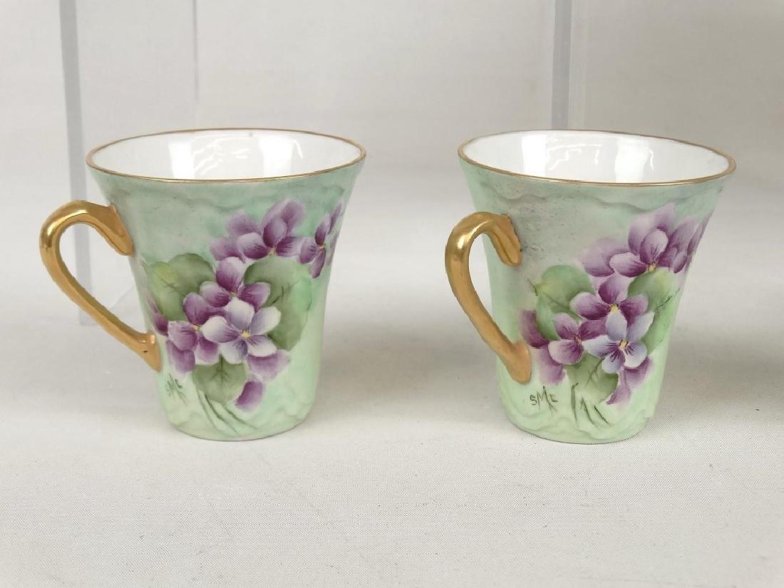 Porcelain Coffee Set - 5