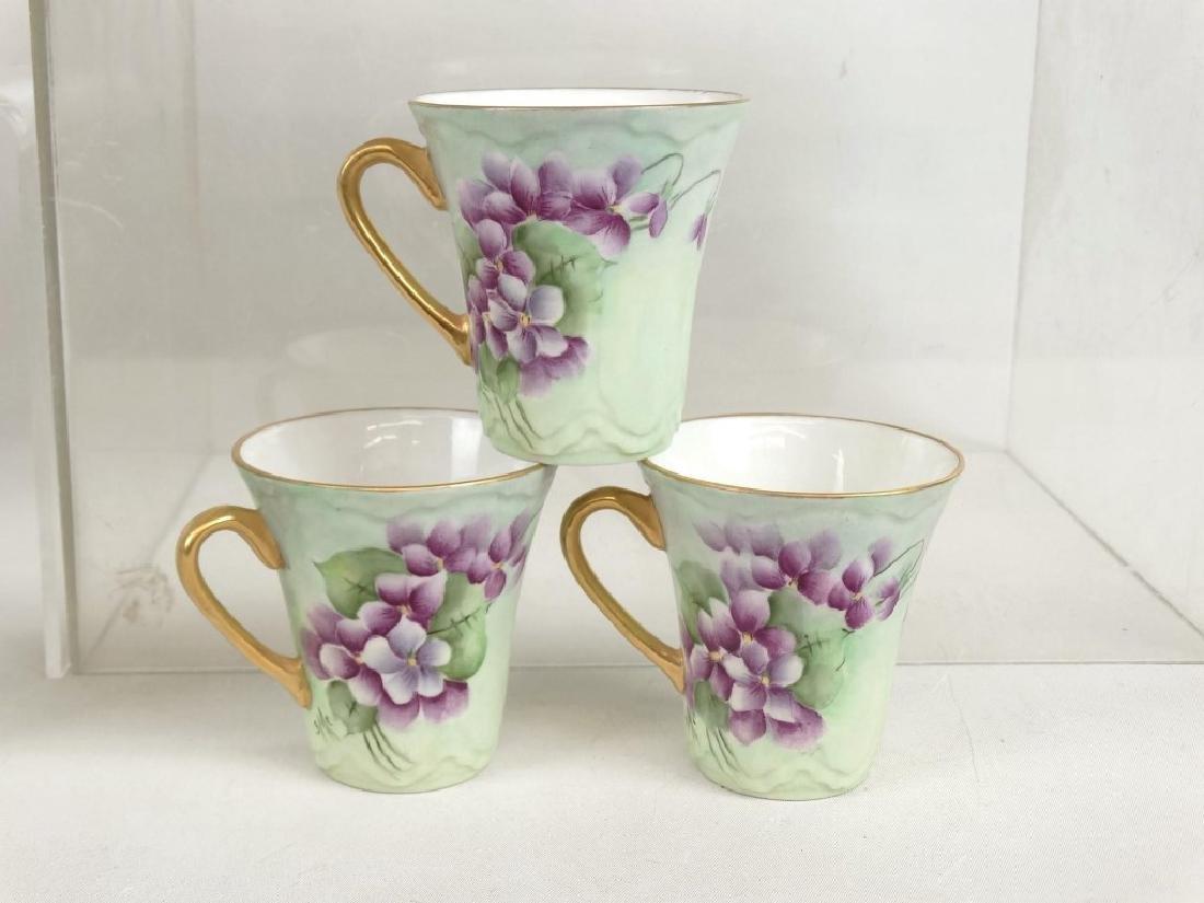Porcelain Coffee Set - 6