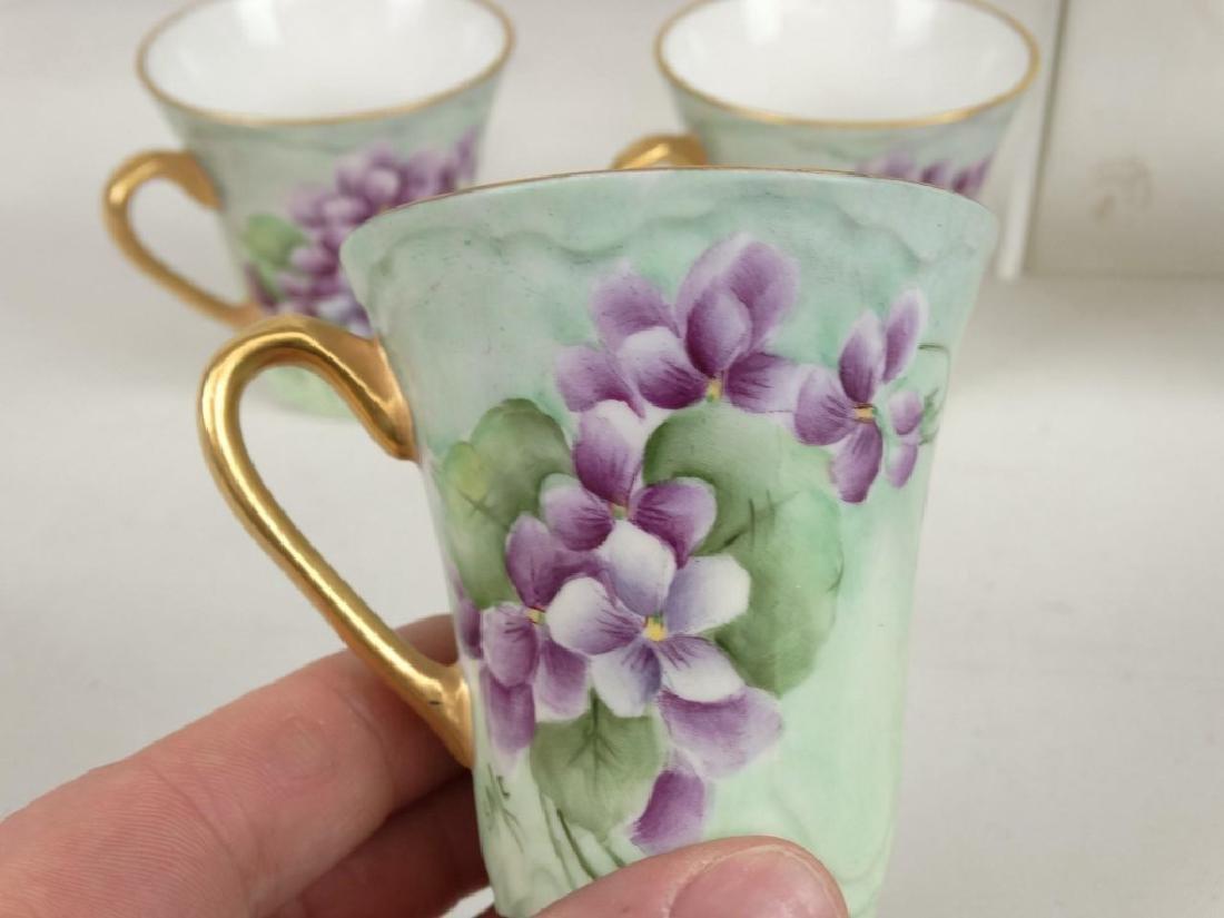 Porcelain Coffee Set - 7