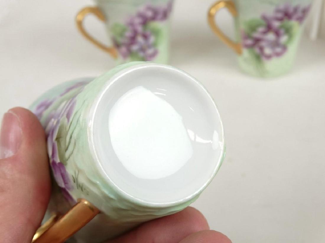 Porcelain Coffee Set - 8