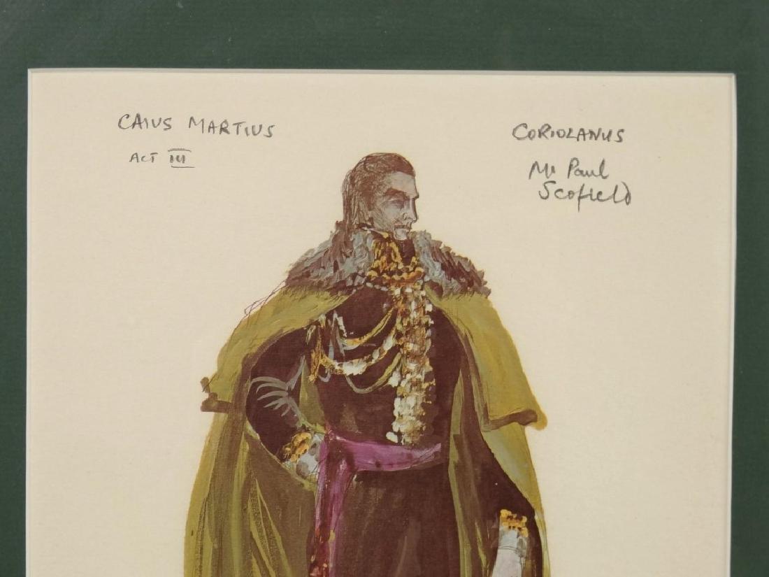 Pair Of Actor Watercolors - 4