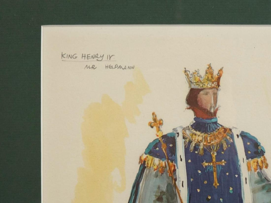 Pair Of Actor Watercolors - 5