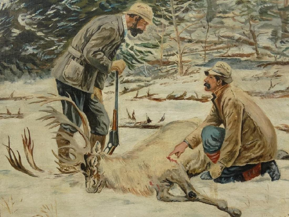 """E. B."", Winter Hunting Scene - 4"
