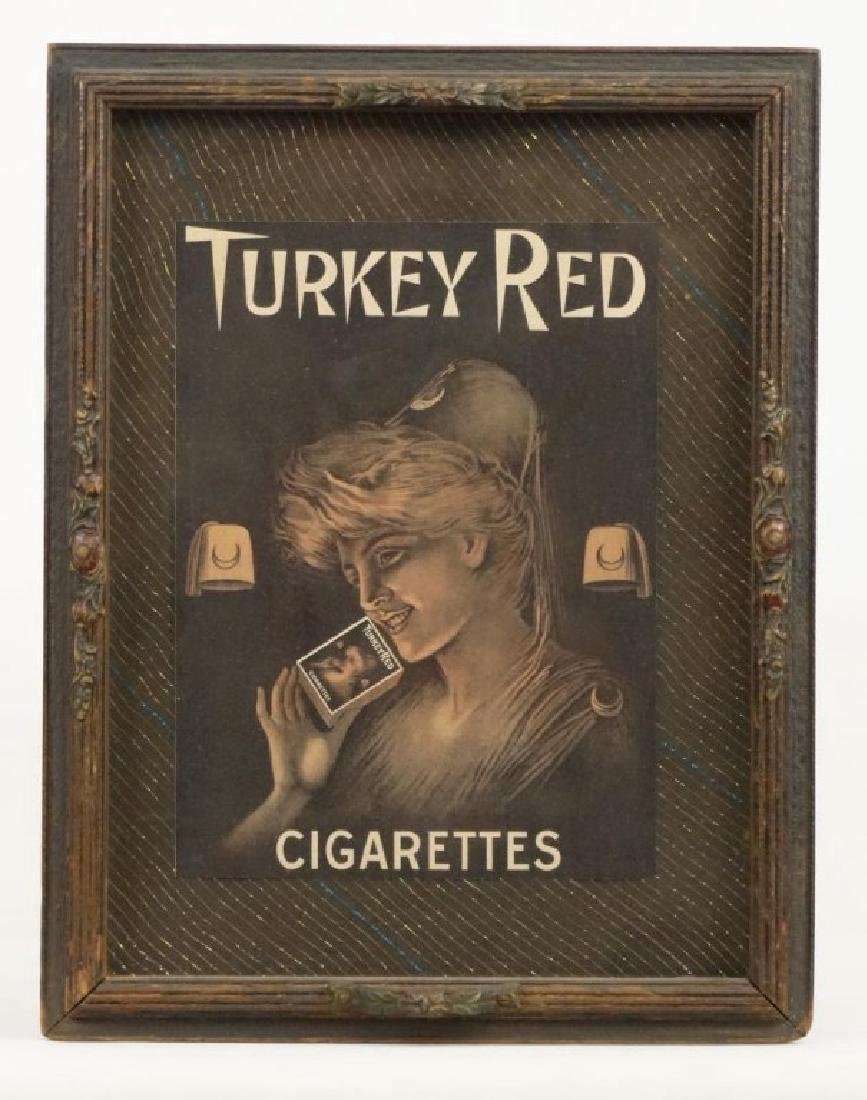 Cigarette Advertising Tray
