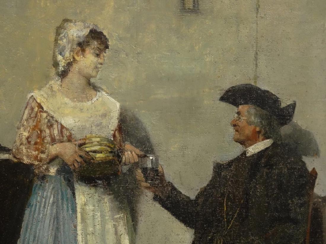 Del Buono, Interior Scene With Pilgrims - 3