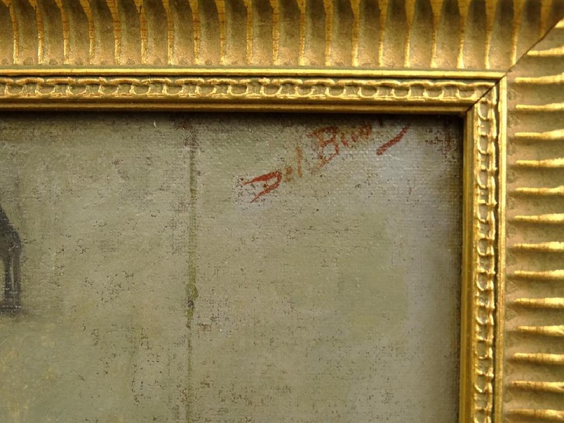 Del Buono, Interior Scene With Pilgrims - 4
