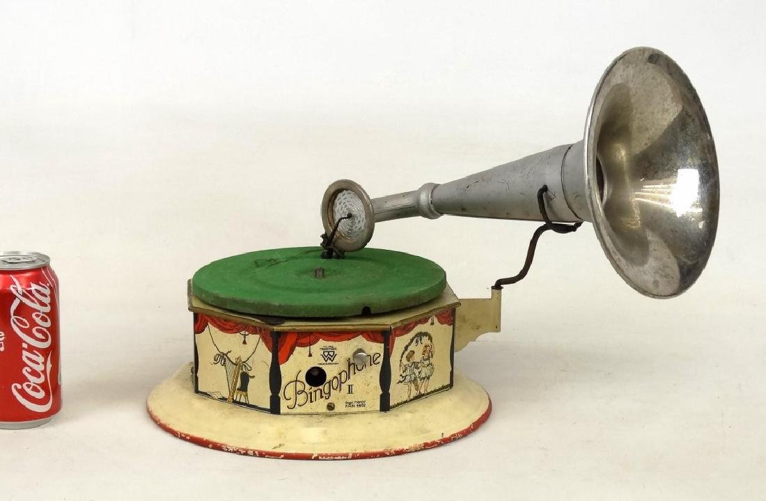 German Child's Bingophone Phonograph