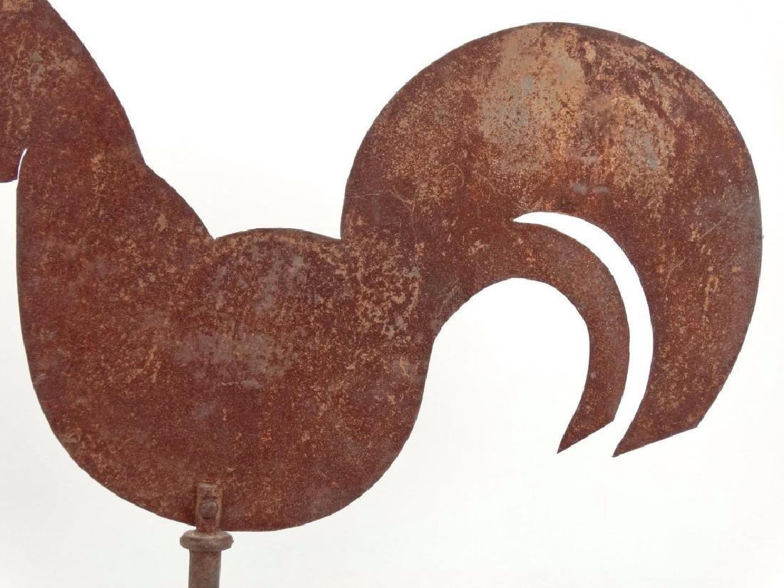 Sheet Metal Rooster Weathervane - 8