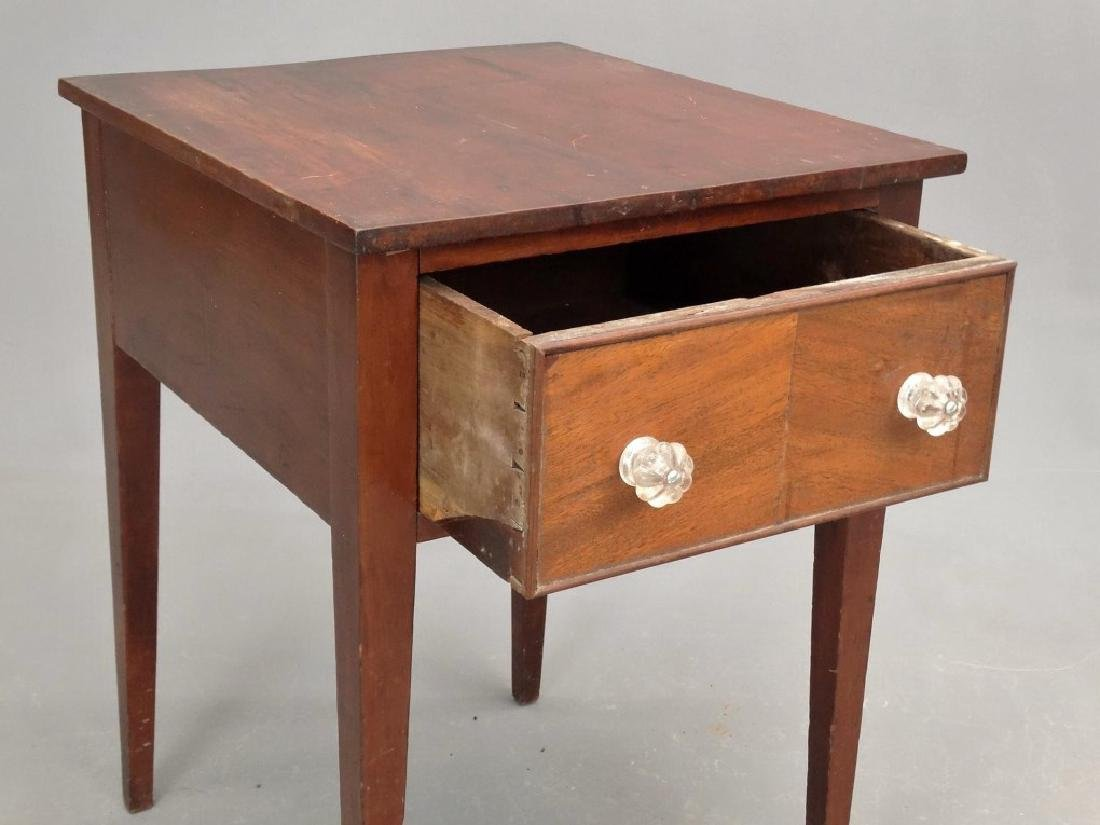 19th c. Single Drawer Stand - 2