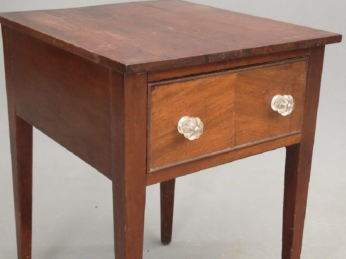 19th c. Single Drawer Stand - 3