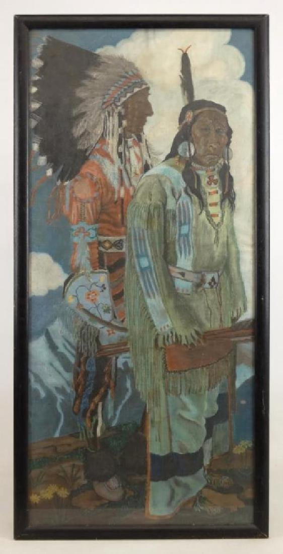 Painting Native Americans