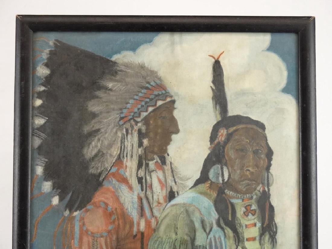 Painting Native Americans - 2