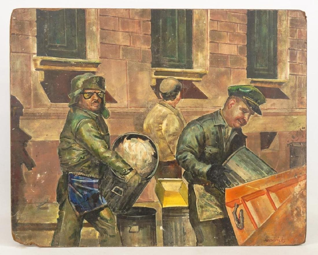 Hendricks, Sanitation Workers