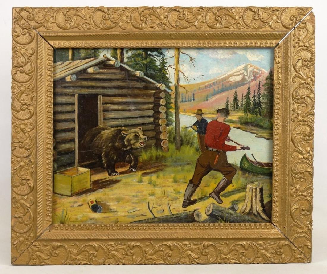 Wurstner, Bear Hunting Scene
