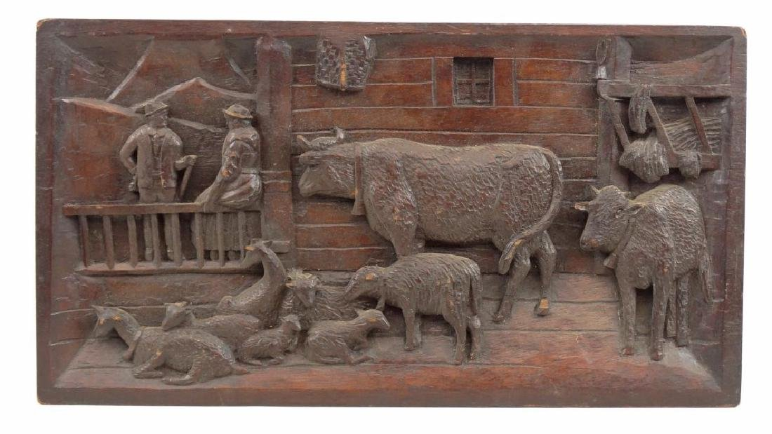 Carved Plaque