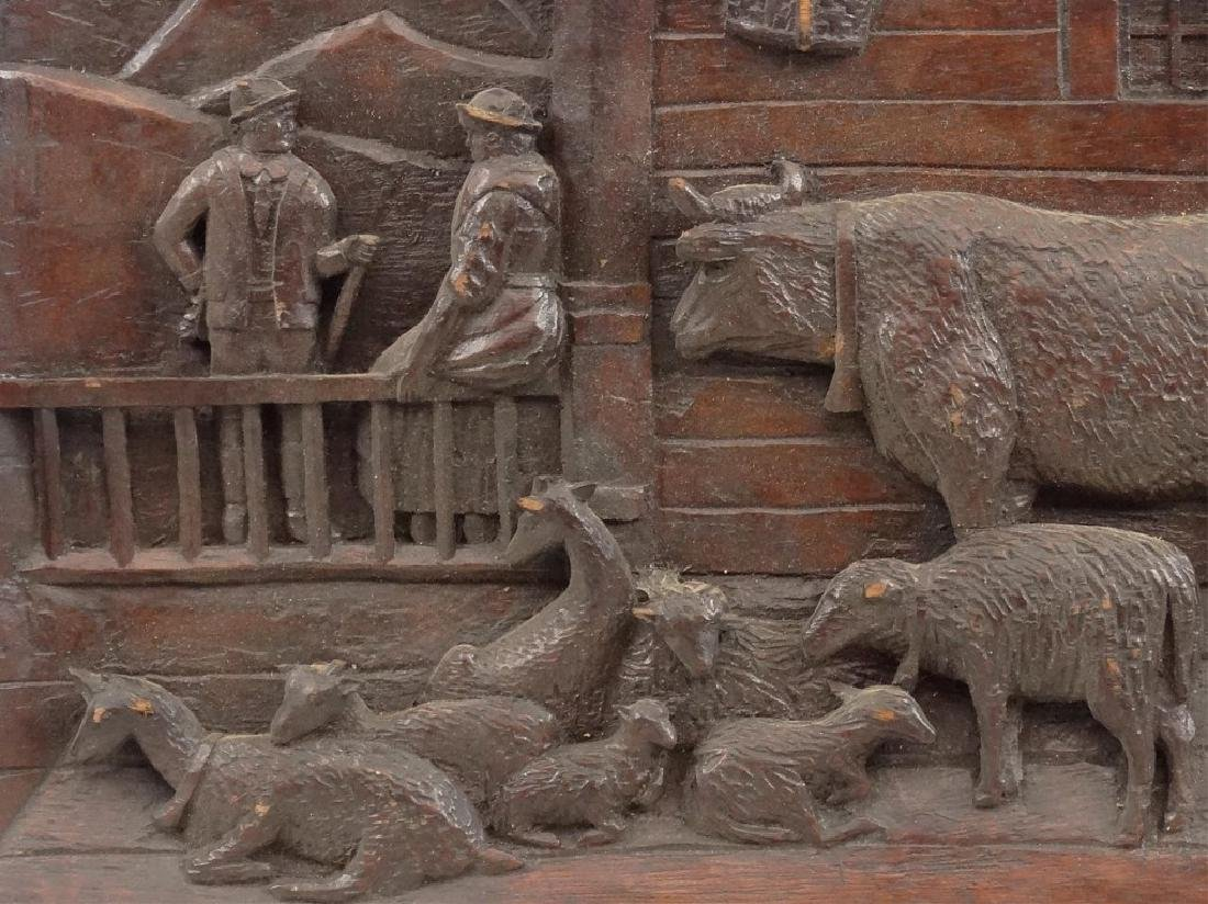 Carved Plaque - 2