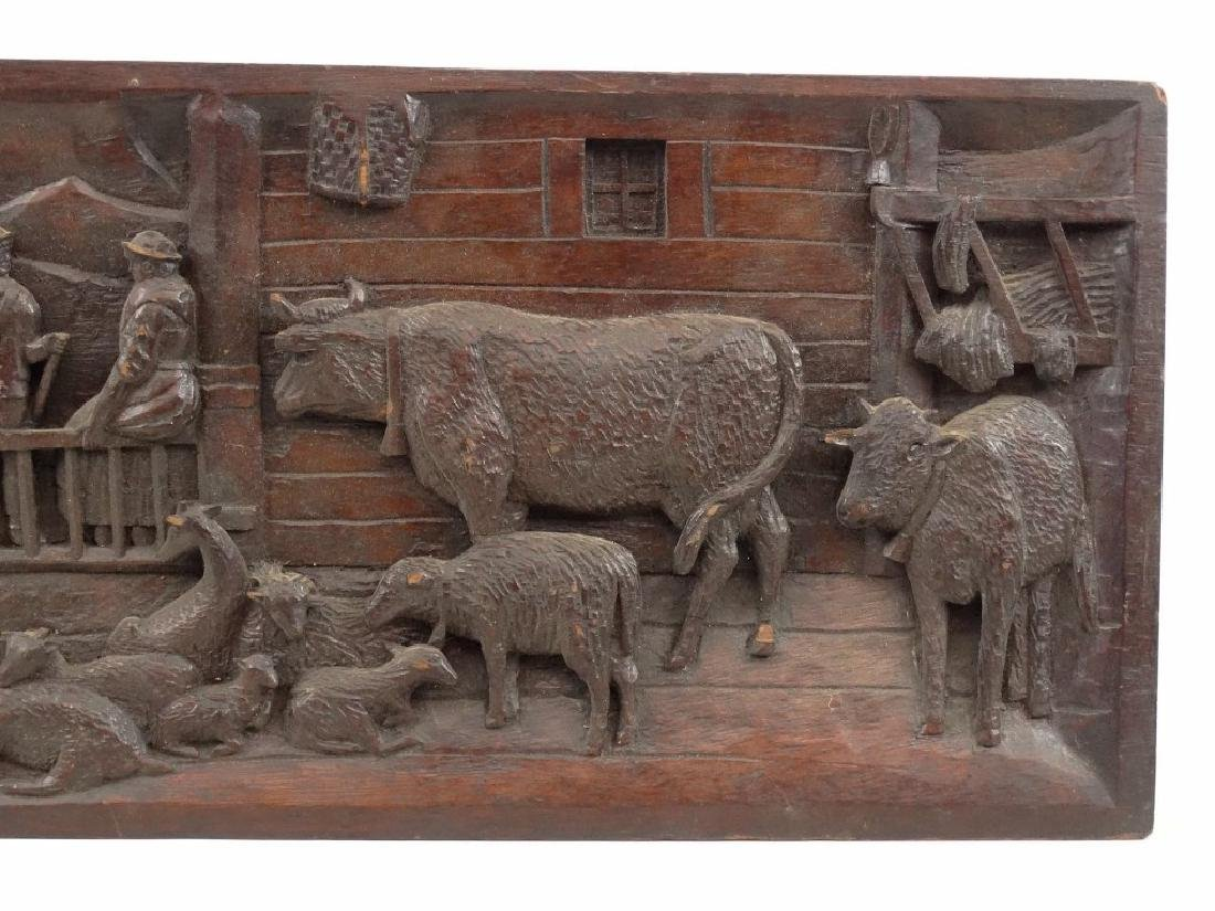 Carved Plaque - 3