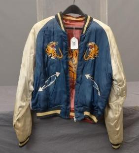 Japanese Silk Needlework Coat