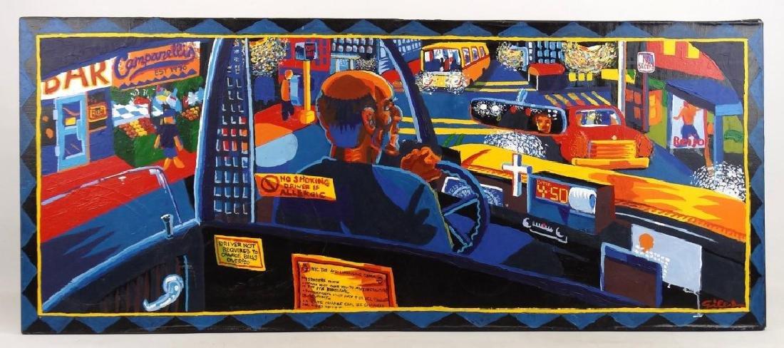 Pat Giles, Taxi Driver
