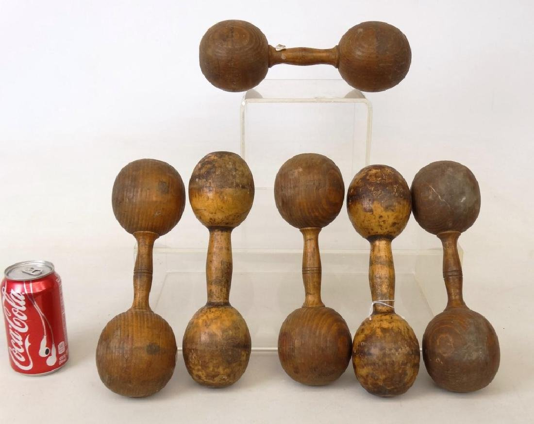 Wooden Dumbbells